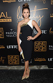 Actress Nina Dobrev attends the Nine Zero One Salon Melrose Place Launch Party on January 17 2015 in Los Angeles California