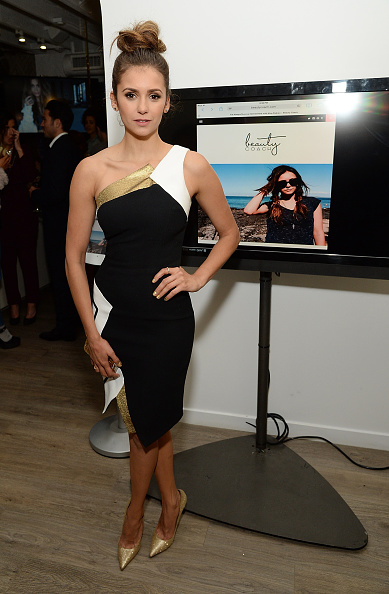 Nina dobrev 17 january 2015 stock photos and pictures for 2 the nines salon