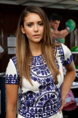 Actress Nina Dobrev attends the Nintendo Lounge On The TV Guide Magazine Yacht At ComicCon #TVGMYacht during San Diego ComicCon International 2014 on...