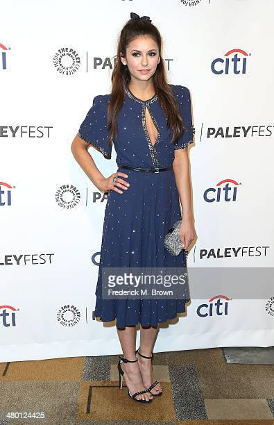 Actress Nina Dobrev attends The Paley Center for Media's PaleyFest 2014 Honoring 'The Vampire Diaries' and 'The Originals' at the Dolby Theatre on...