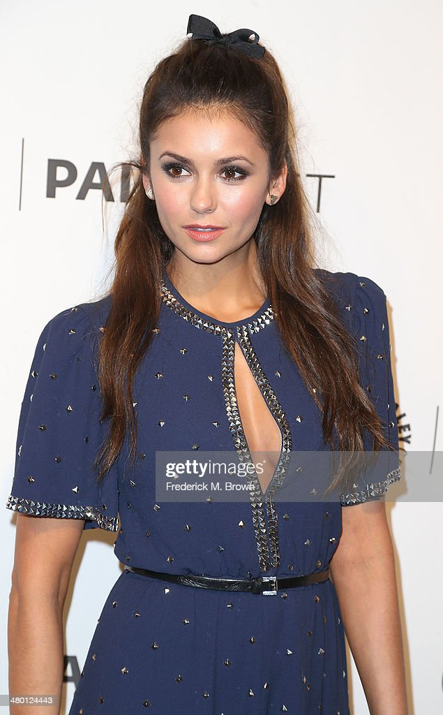 Actress Nina Dobrev attends The Paley Center for Media's PaleyFest 2014 Honoring 'The Vampire Diaries' and 'The Originals' at the Dolby Theatre on March 22, 2014 in Hollywood, California.