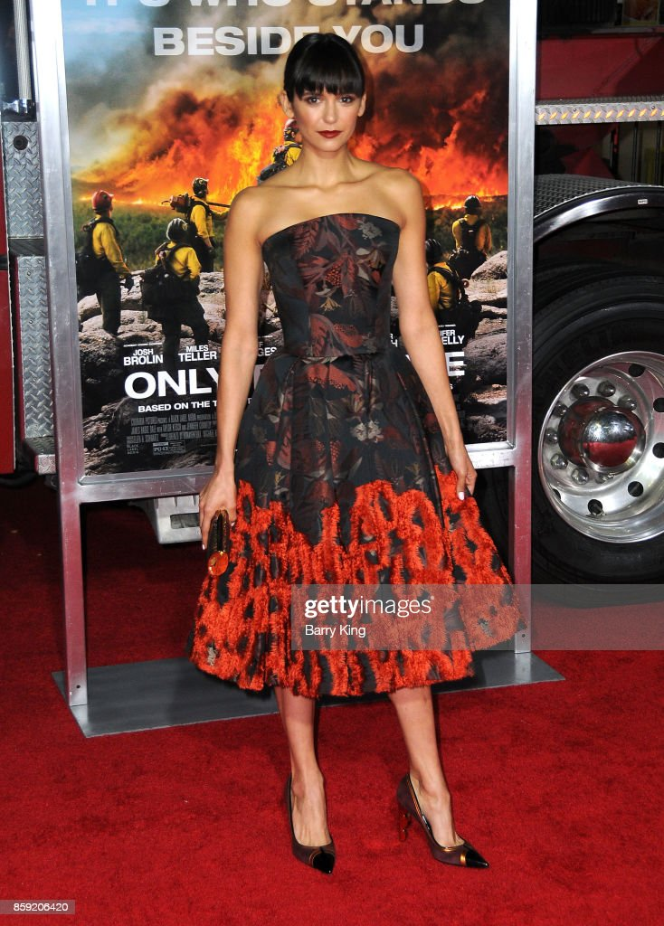 Actress Nina Dobrev attends the premiere of Columbia Pictures' 'Only The Brave' at Regency Village Theatre on October 8, 2017 in Westwood, California.