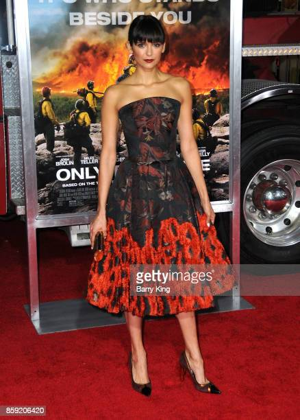 Actress Nina Dobrev attends the premiere of Columbia Pictures' 'Only The Brave' at Regency Village Theatre on October 8 2017 in Westwood California