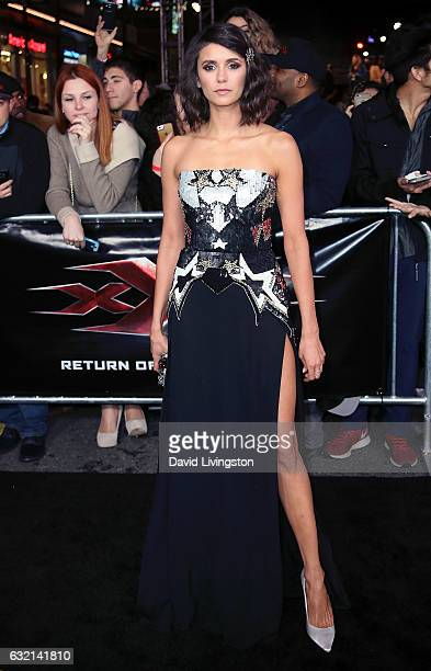 Actress Nina Dobrev attends the premiere of Paramount Pictures' 'xXx Return of Xander Cage' at TCL Chinese Theatre IMAX on January 19 2017 in...