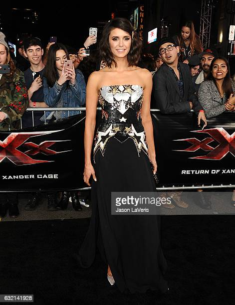 Actress Nina Dobrev attends the premiere of 'xXx Return of Xander Cage' at TCL Chinese Theatre IMAX on January 19 2017 in Hollywood California