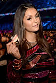 Actress Nina Dobrev attends the Teen Choice Awards 2015 at the USC Galen Center on August 16 2015 in Los Angeles California
