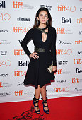 Actress Nina Dobrev attends the 'The Final Girls' premiere during the Toronto International Film Festival at Ryerson Theatre on September 19 2015 in...