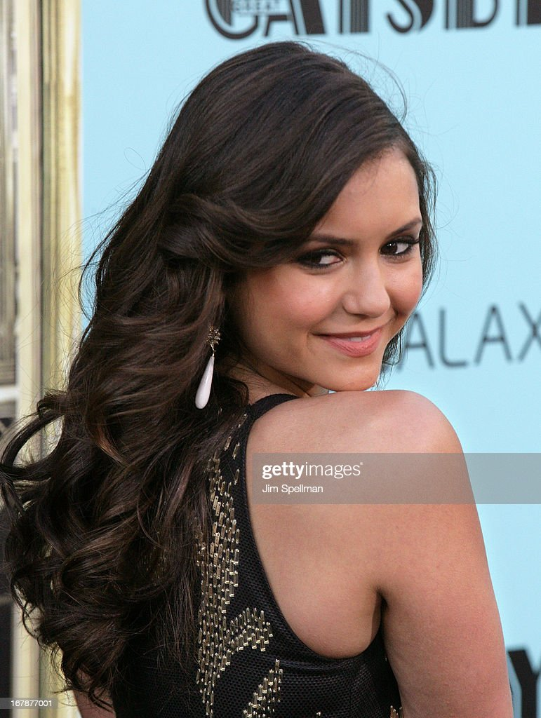 Actress Nina Dobrev attends the 'The Great Gatsby' world premiere at Avery Fisher Hall at Lincoln Center for the Performing Arts on May 1, 2013 in New York City.