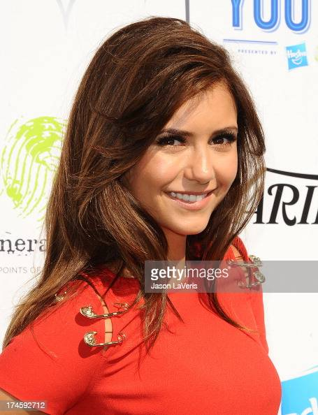 Actress Nina Dobrev attends Variety's 7th annual Power of Youth event at Universal Studios Hollywood on July 27 2013 in Universal City California