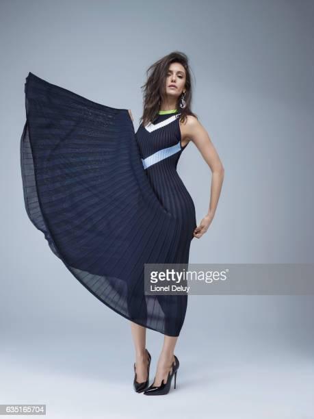 Actress Nina Dobrev is photographed for Prestige Hong Kong on November 18 2016 in Los Angeles California