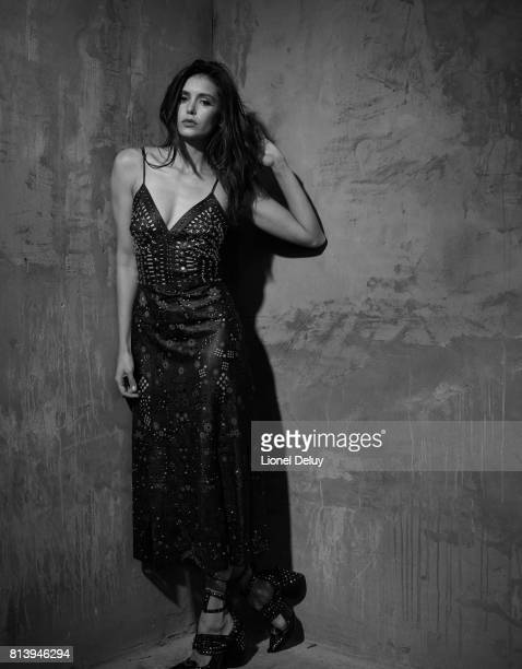 Actress Nina Dobrev is photographed for Self Assignment on November 18 2016 in Los Angeles California