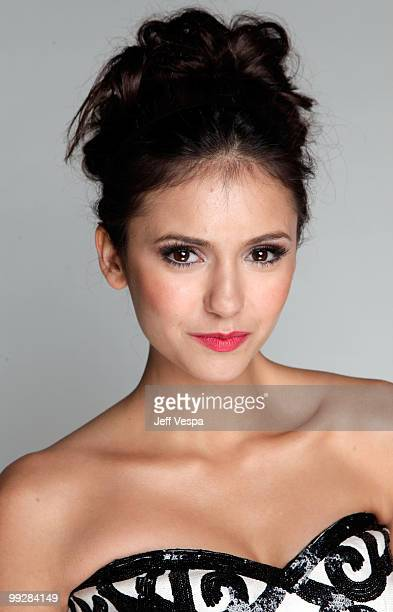 Actress Nina Dobrev poses for a portrait during the 12th annual Young Hollywood Awards sponsored by JC Penney Mark Lipton Sparkling Green Tea held at...