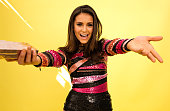 Actress Nina Dobrev poses for a portrait during the 2015 Teen Choice Awards FOX Portrait Studio at Galen Center on August 16 2015 in Los Angeles...