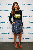 Actress Nina Dobrev visits the SiriusXM Studios on August 4 2014 in New York City
