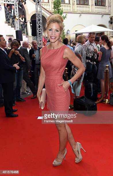 Actress Nina Gnaedig attends the Bavaria Reception during the Munich Film Festival 2014 on July 1 2014 in Munich Germany