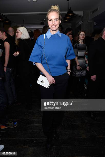 Actress Nina Hoss attends Studio Babelsberg Soho House Berlinale Party with GREY GOOSE at the 'QUEEN OF THE DESERT' Studio Babelsberg Berlinale...