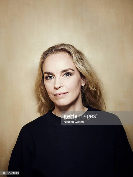 Actress Nina Hoss is photographed for Self Assignment on December 17 2014 in Paris France