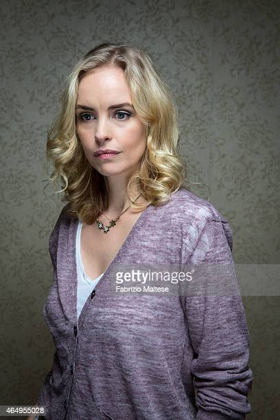 Actress Nina Hoss is photographed for The Hollywood Reporter on September 7 2014 in Toronto Canada