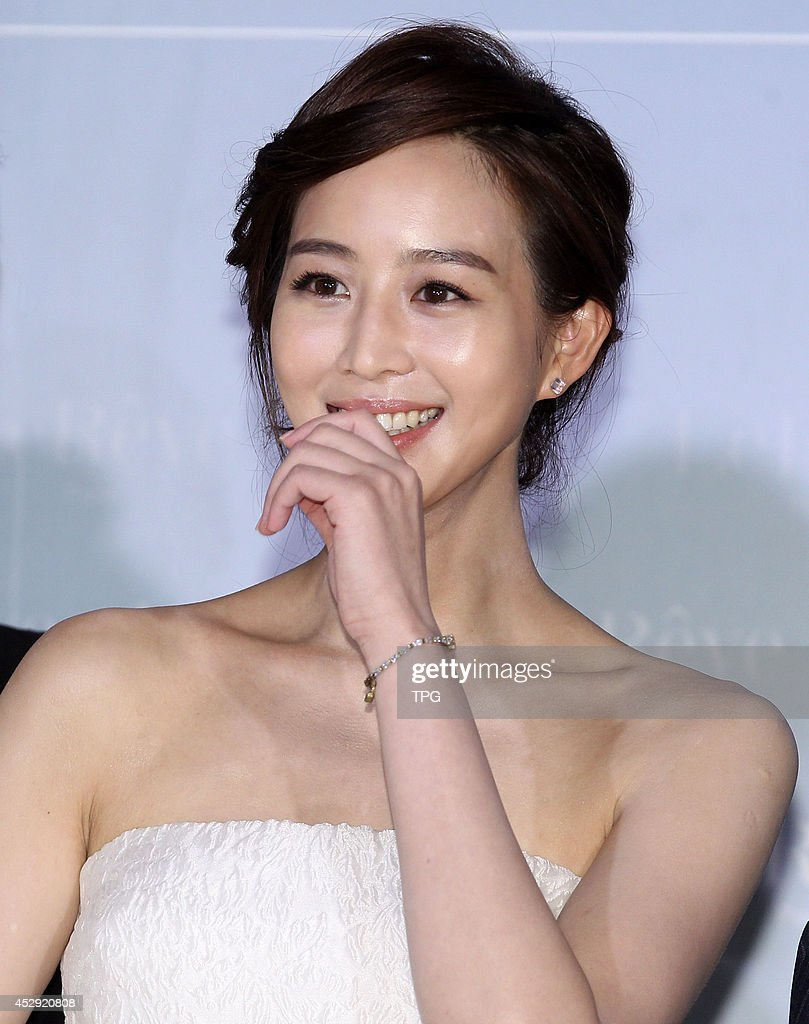 Actress Ning Chang attends commercial activity on Monday July 28,2014 in Taipei,China.
