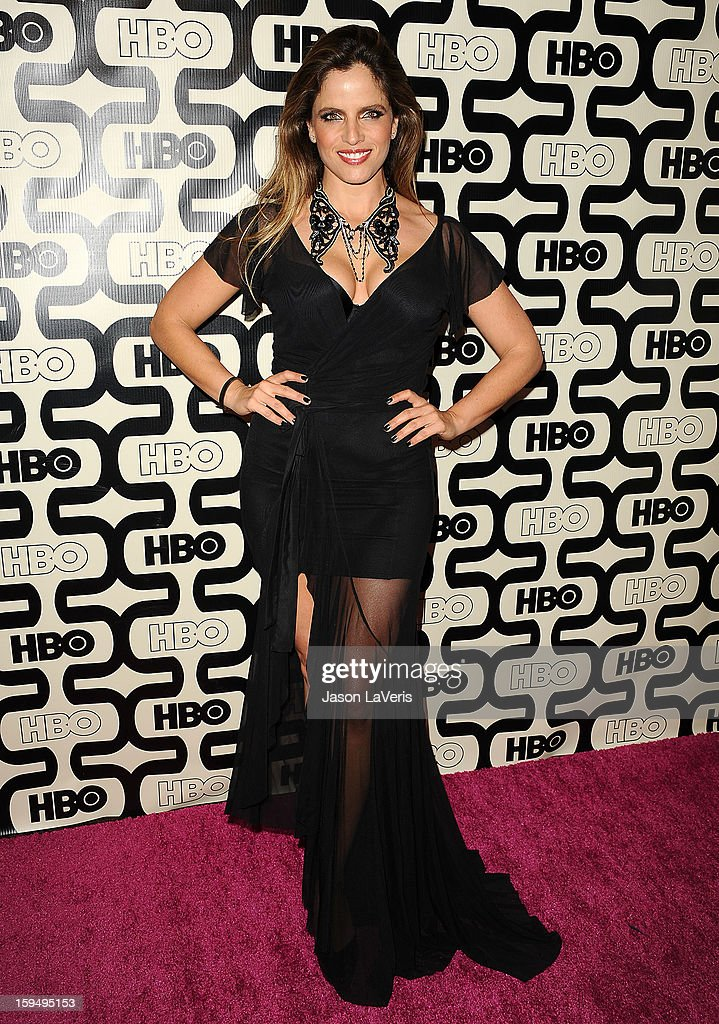 Actress Noa Tishby attends the HBO after party at the 70th annual Golden Globe Awards at Circa 55 restaurant at the Beverly Hilton Hotel on January 13, 2013 in Los Angeles, California.
