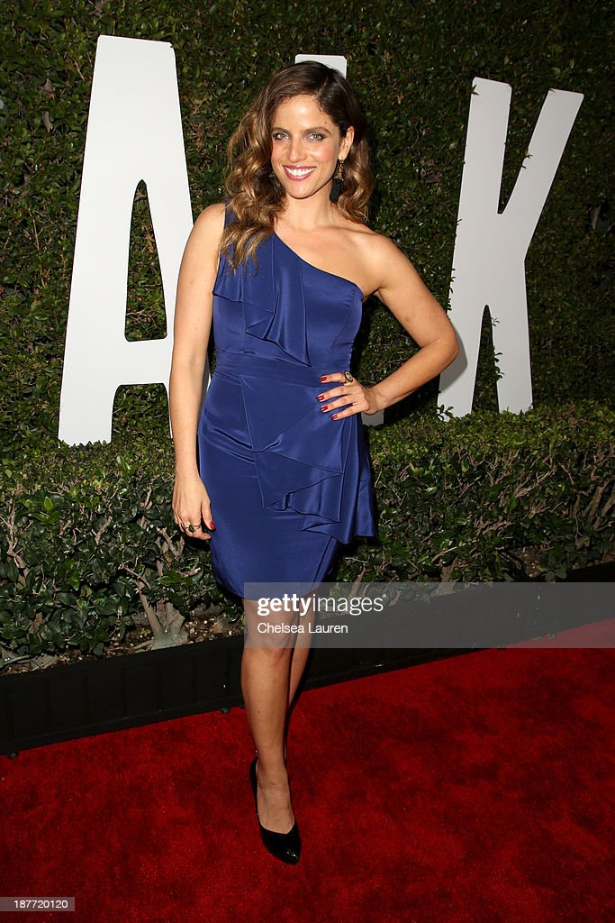 Actress Noa Tishby attends 'The Weinstein Company Presents The LA Premiere Of 'Mandela: Long Walk To Freedom' Supported By Burberry' at ArcLight Hollywood Cinerama Dome on November 11, 2013 in Los Angeles, California.