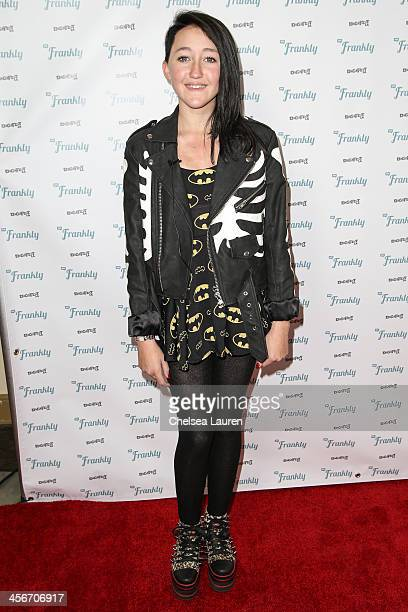 Actress Noah Cyrus arrives at DigiFest LA at Hollywood Palladium on December 14 2013 in Hollywood California