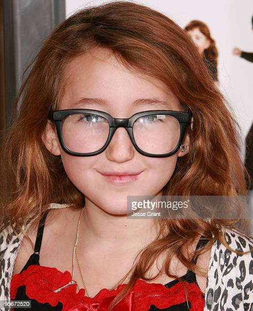 Actress Noah Cyrus arrives at The Spy Next Door world premiere at The Grove on January 9 2010 in Los Angeles California