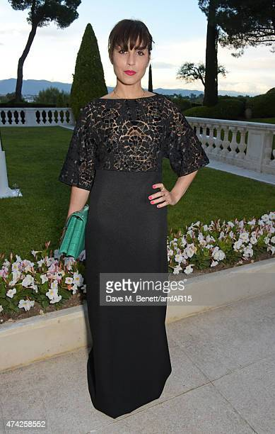 Actress Noomi Rapace arrives at amfAR's 22nd Cinema Against AIDS Gala Presented By Bold Films And Harry Winston at Hotel du CapEdenRoc on May 21 2015...
