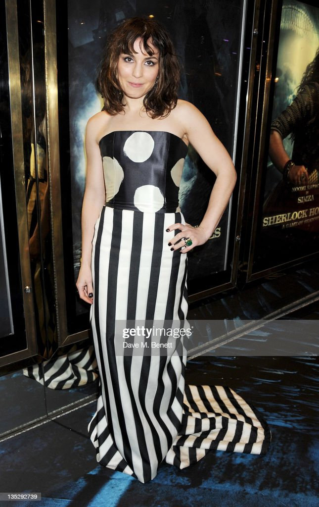 Actress <a gi-track='captionPersonalityLinkClicked' href=/galleries/search?phrase=Noomi+Rapace&family=editorial&specificpeople=4522889 ng-click='$event.stopPropagation()'>Noomi Rapace</a> arrives at the European Premiere of 'Sherlock Holmes: A Game of Shadows' at Empire Leicester Square on December 8, 2011 in London, England.