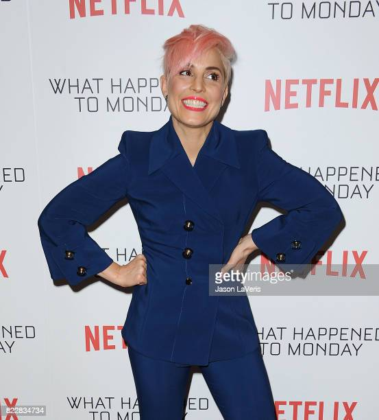 Actress Noomi Rapace attends a screening of 'What Happened To Monday' at The London West Hollywood on July 25 2017 in West Hollywood California