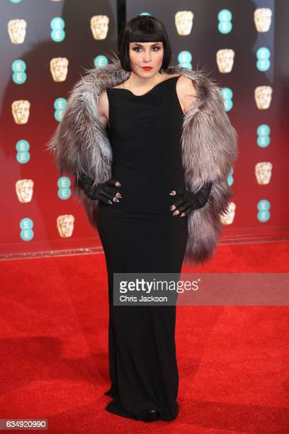 Actress Noomi Rapace attends the 70th EE British Academy Film Awards at Royal Albert Hall on February 12 2017 in London England