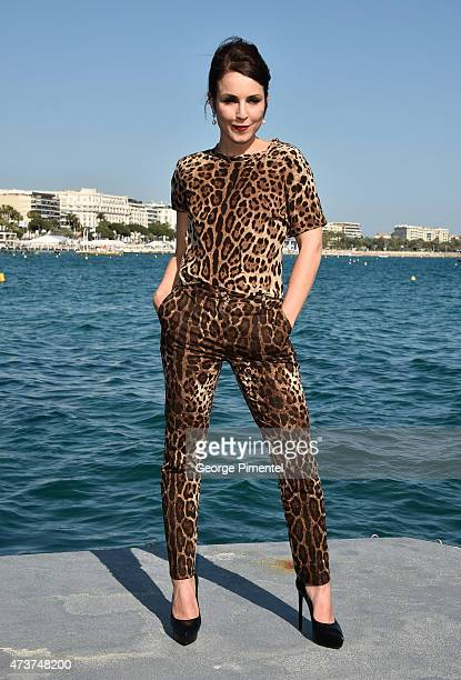 Actress Noomi Rapace attends the 'Callas' Photocall during the 68th annual Cannes Film Festival on May 17 2015 in Cannes France