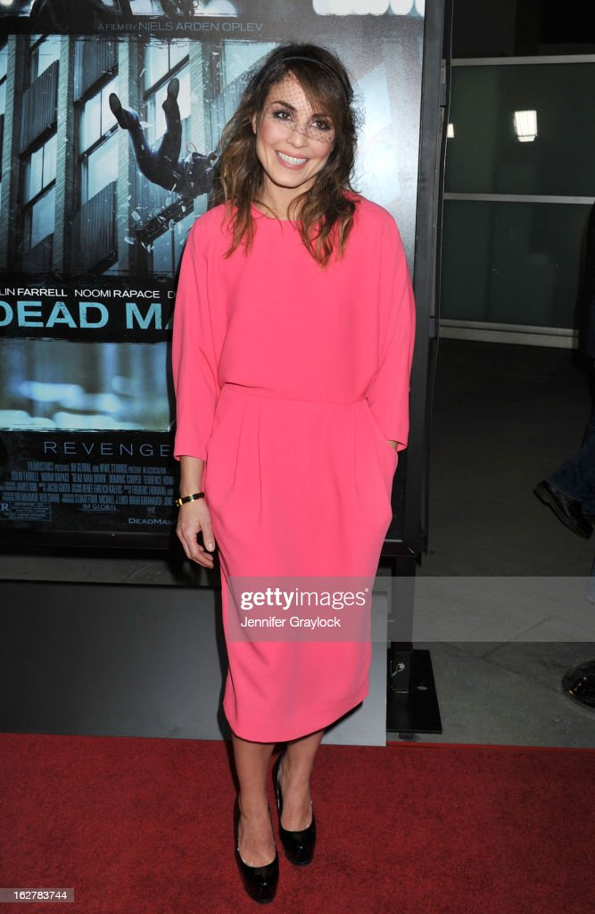 Actress <a gi-track='captionPersonalityLinkClicked' href=/galleries/search?phrase=Noomi+Rapace&family=editorial&specificpeople=4522889 ng-click='$event.stopPropagation()'>Noomi Rapace</a> attends the 'Dead Man Down' Los Angeles Premiere held at the ArcLight Cinemas on February 26, 2013 in Hollywood, California.