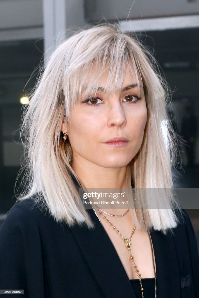 Actress <a gi-track='captionPersonalityLinkClicked' href=/galleries/search?phrase=Noomi+Rapace&family=editorial&specificpeople=4522889 ng-click='$event.stopPropagation()'>Noomi Rapace</a> attends the Givenchy Menswear Fall/Winter 2014-2015 Show as part of Paris Fashion Week. Held at Halle Freyssinet on January 17, 2014 in Paris, France.