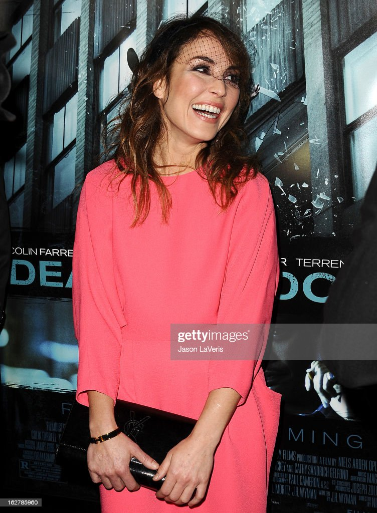 Actress Noomi Rapace attends the premiere of 'Dead Man Down' at ArcLight Cinemas on February 26, 2013 in Hollywood, California.