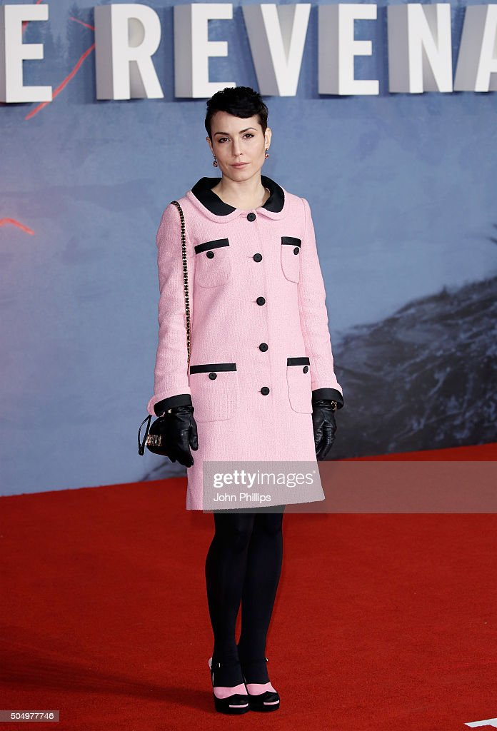 Actress Noomi Rapace attends the UK Premiere of 'The Revenant' at the Empire Leicester Square on January 14, 2016 in London, England.