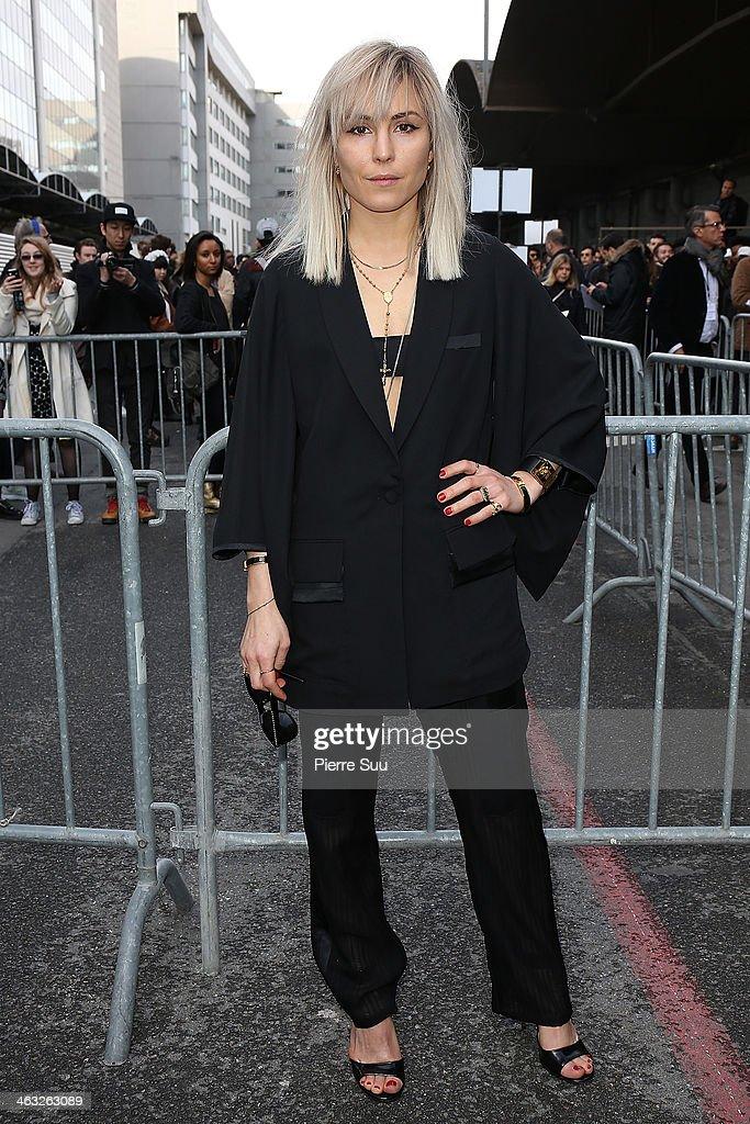 Givenchy : Outside Arrivals- Paris Fashion Week - Menswear F/W 2014-2015
