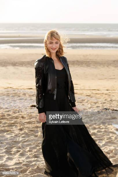 Actress Nora Arnezeder attends jury photocall during the 2nd day of 31st Cabourg Film Festival on June 15 2017 in Cabourg France