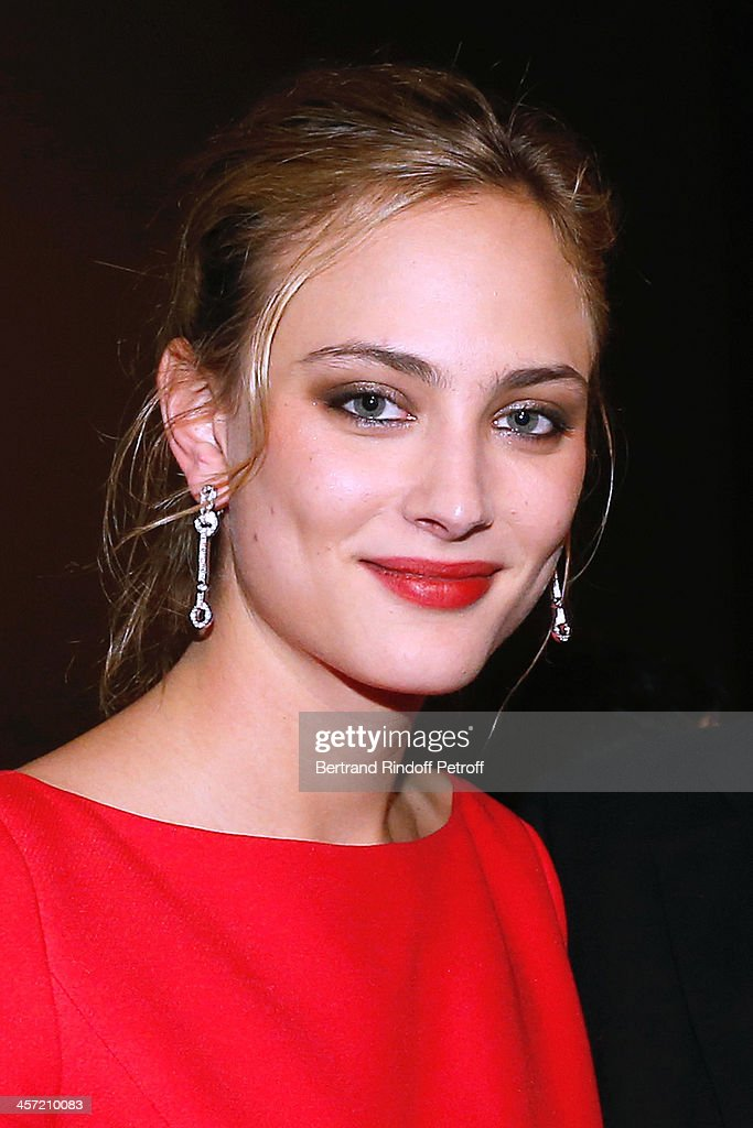 Actress <a gi-track='captionPersonalityLinkClicked' href=/galleries/search?phrase=Nora+Arnezeder&family=editorial&specificpeople=4405993 ng-click='$event.stopPropagation()'>Nora Arnezeder</a> attends the 'Angelique' Paris movie premiere, after screening, at Cinema Gaumont Capucine on December 16, 2013 in Paris, France.