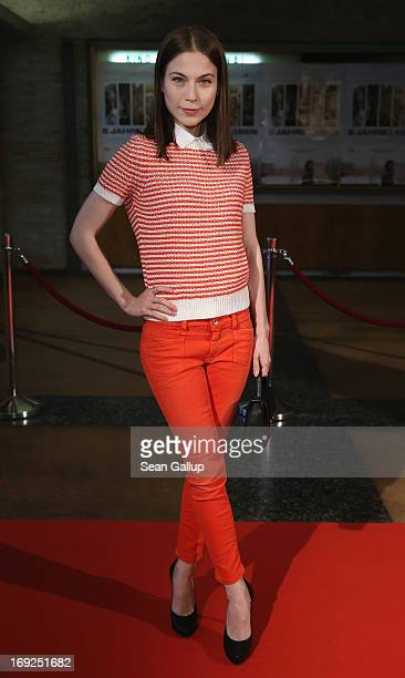 Actress Nora von Waldstaetten attends the premiere of '5 Jahre Leben' at Kino International on May 22 2013 in Berlin Germany