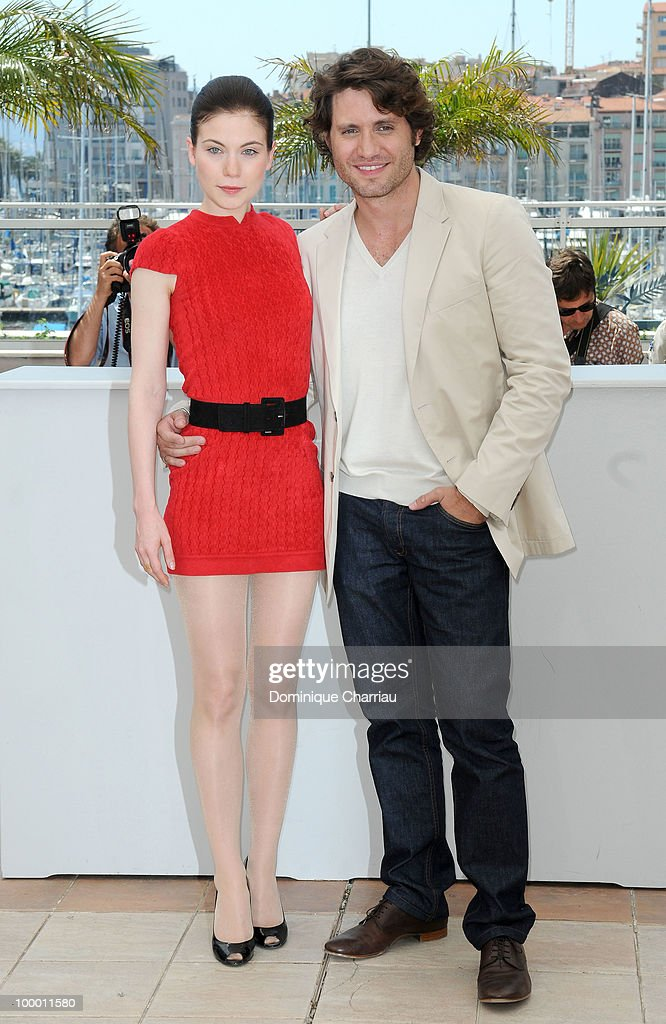 Actress Nora Von Waldstatten and actor Edgar Ramirez attend the 'Carlos' Photo Call held at the Palais des Festivals during the 63rd Annual International Cannes Film Festival on May 20, 2010 in Cannes, France.