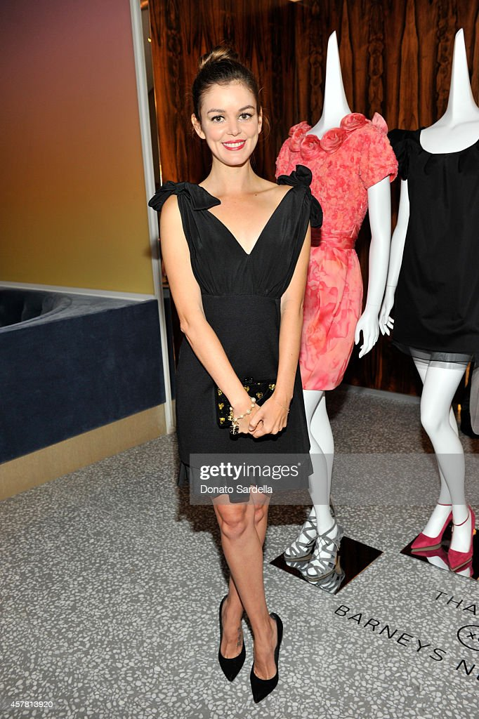 Actress Nora Zehetner attends a private dinner hosted by Barneys New York and Rashida Jones in honor of Thakoon Panichgul at Barneys New York Beverly...