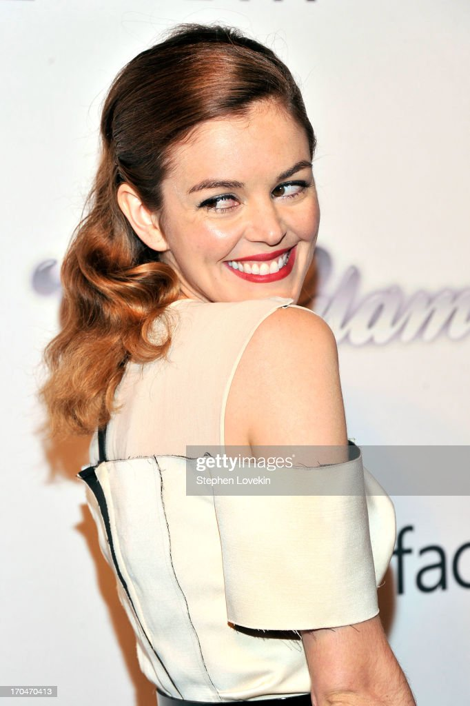 Actress Nora Zehetner attends the 4th Annual amfAR Inspiration Gala New York at The Plaza Hotel on June 13 2013 in New York City