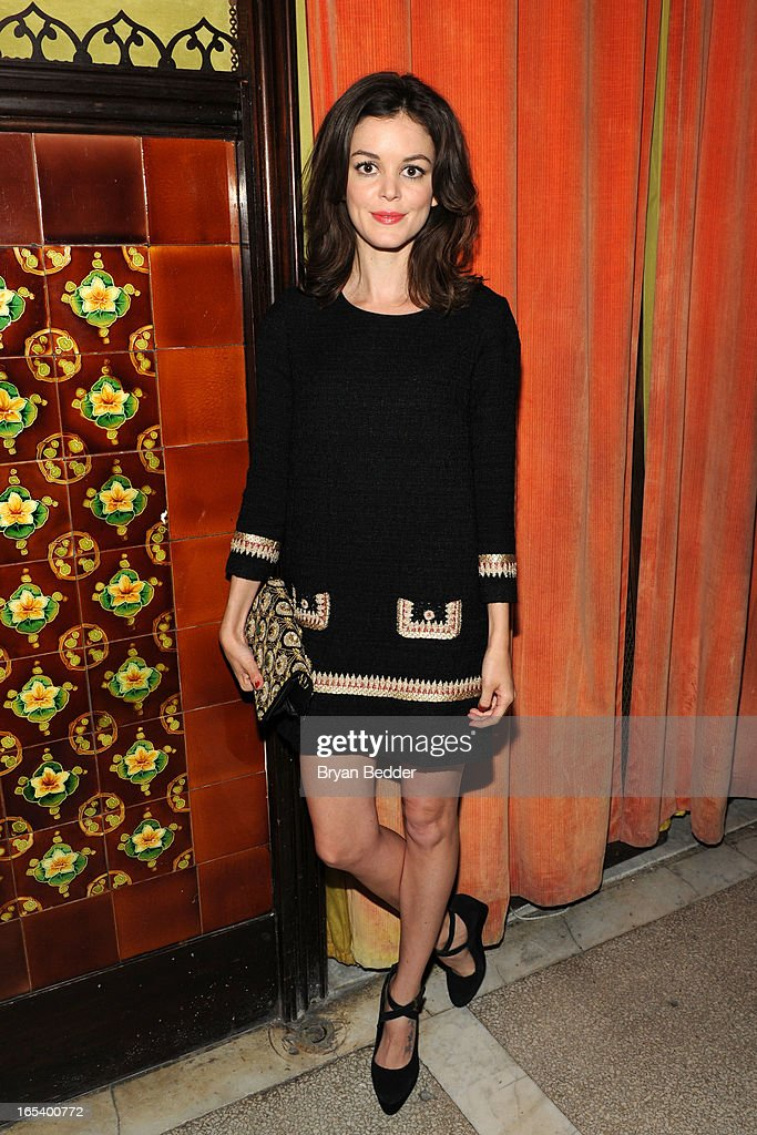 Actress Nora Zehetner attends the COREY Fall 2013 Launch Party hosted by Nora Zehetner at The Jane Hotel on April 3, 2013 in New York City.