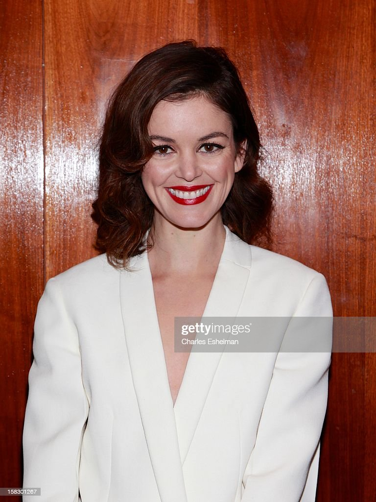 Actress Nora Zehetner attends 'The Impossible' screening at the Museum of Art and Design on December 12, 2012 in New York City.