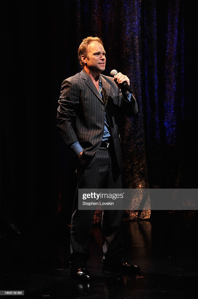 Actress Norbert Leo Butz attends the Great Writers Thank Their Lucky Stars annual gala hosted by The Dramatists Guild Fund on October 21, 2013 in New York City.