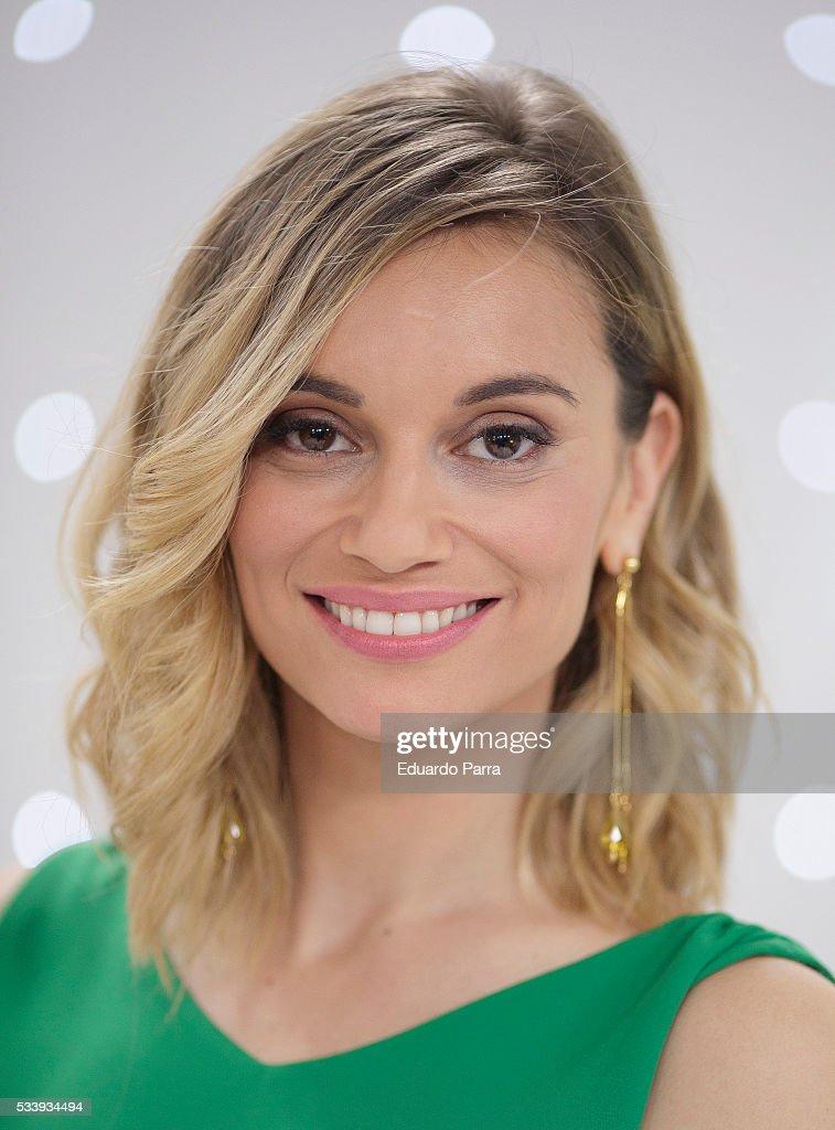 Actress Norma Ruiiz attends 'El hombre de tu vida' press conference at RTVE studios on May 24, 2016 in Madrid, Spain.