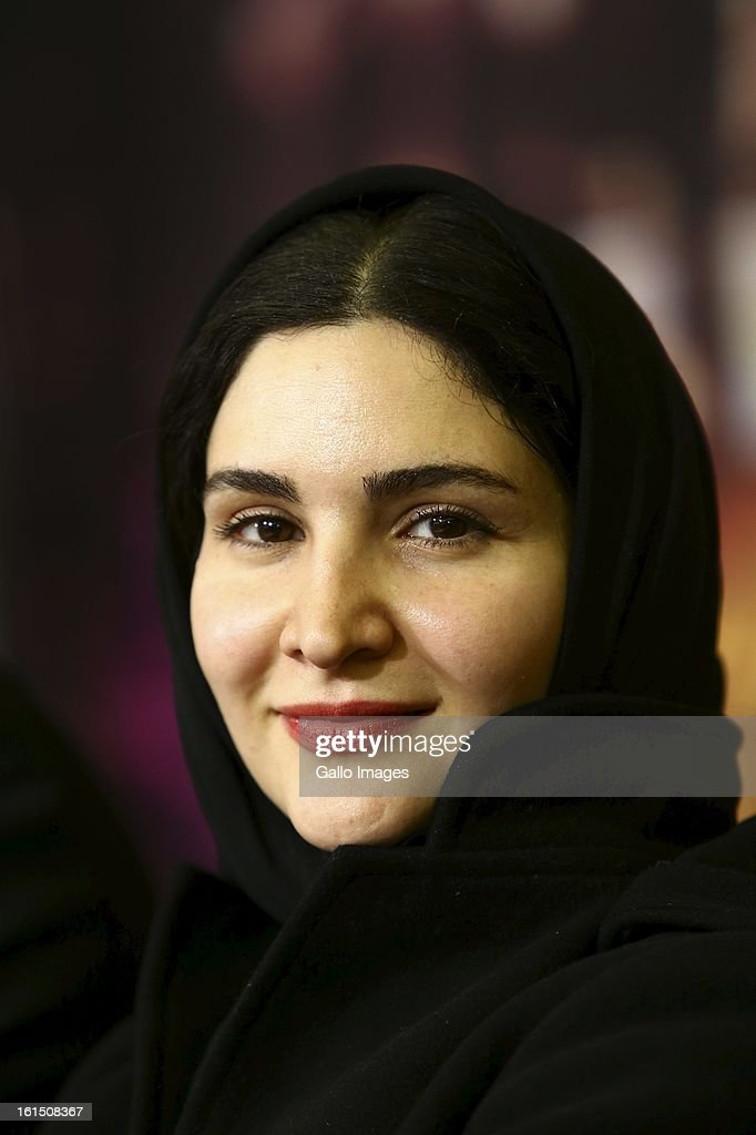 Actress Noura Hashem at Day 9 of the 31th International Fajr Film Festival on February 8, 2013 in Tehran, Iran. Organized by the Ministry of Culture and Islamic Guidance, the Film Festival is the most important film event in the country.