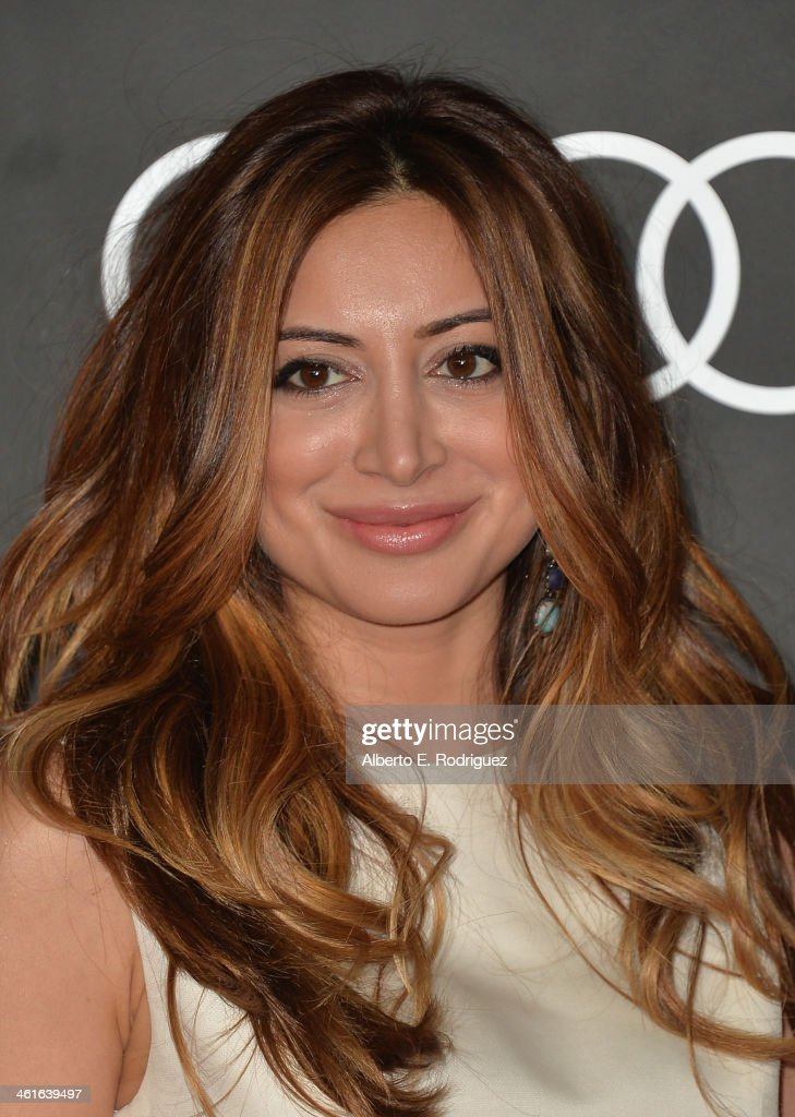 Actress Noureen DeWulf arrives to Audi Celebrates Golden Globes Weekend at Cecconi's Restaurant on January 9, 2014 in Los Angeles, California.