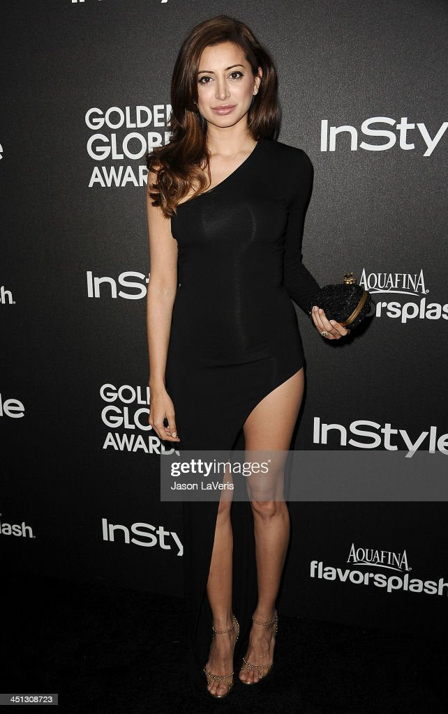 The Hollywood Foreign Press Association  And InStyle 2014 Miss Golden Globe Announcement